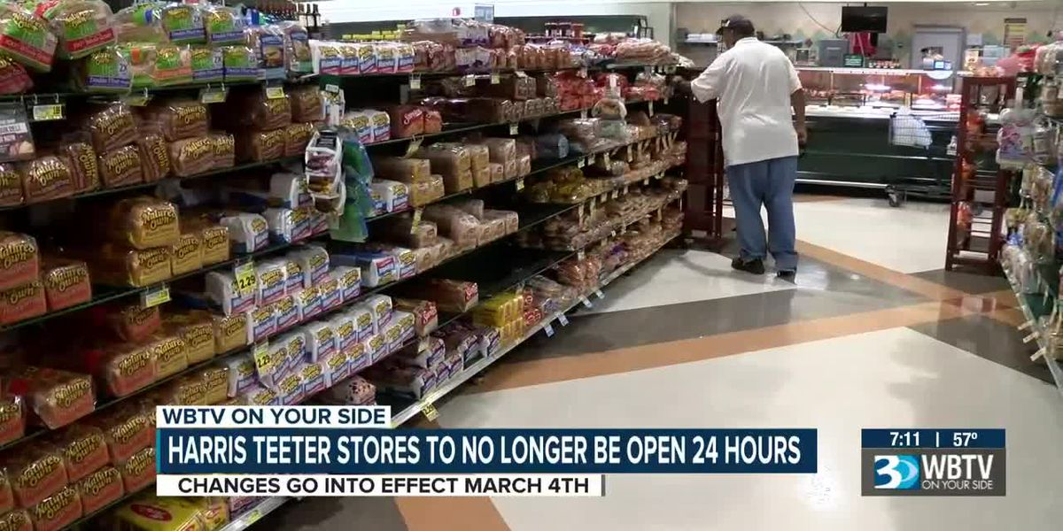 Harris Teeter making changes to its 24-hour grocery stores, including in Charlotte