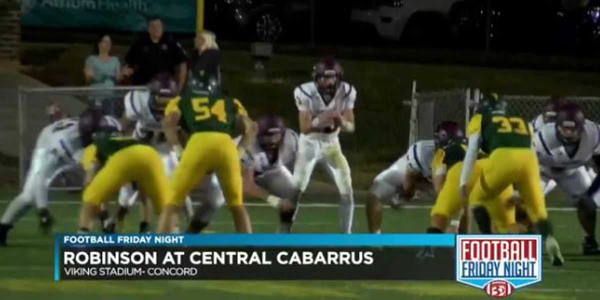 Robinson at Central Cabarrus