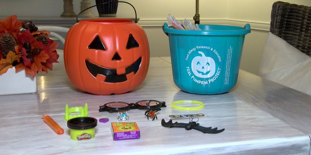 Teal Pumpkin Project offers safe option for kids with food allergies