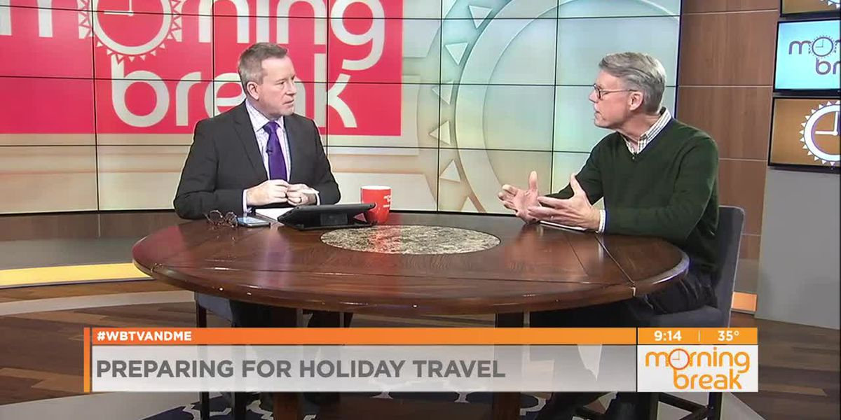 Preparing for the holiday travel