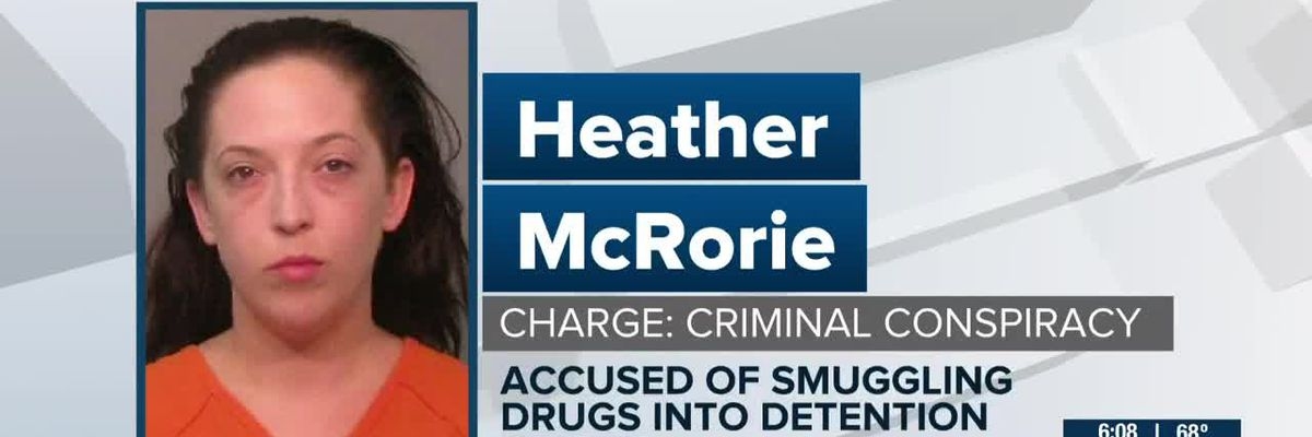 York Co. detention officer accused of conspiring to smuggle drugs to inmates