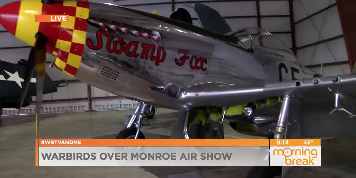 Don't miss the Warbirds over Monroe Air Show this weekend!!