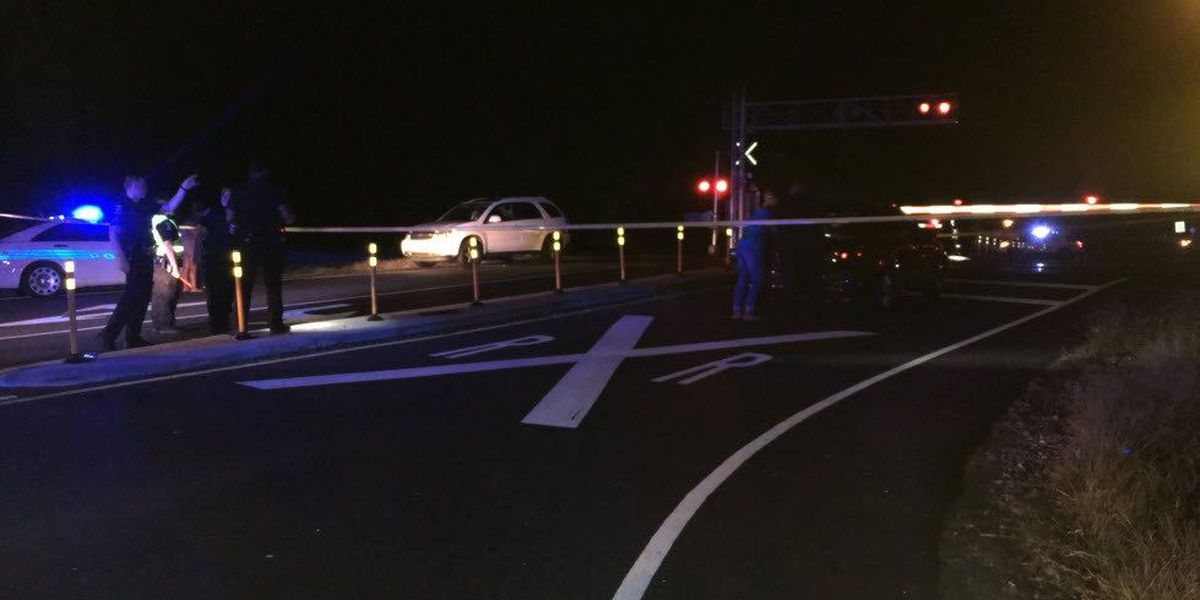 Police: Woman struck by train moved crossing gates