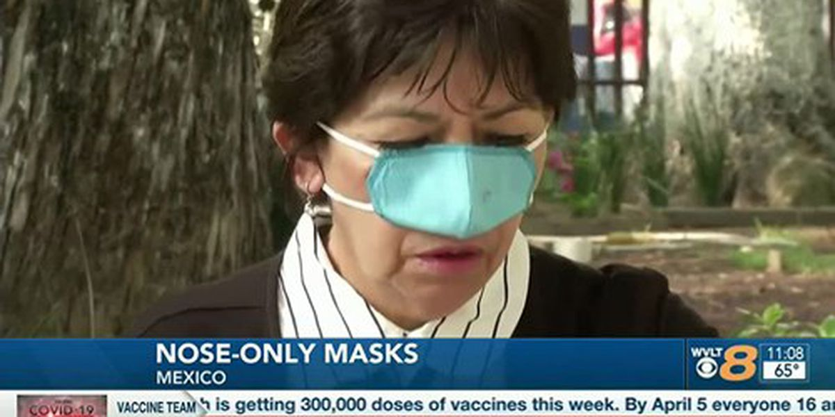 Researchers in Mexico create nose-only mask