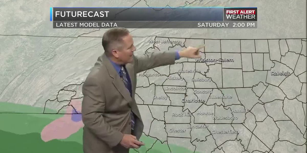 Winter storm could deliver snow this weekend