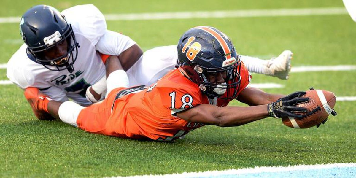 Orange crushed. Vance High's defense smothers Leesville Road in 4AA final