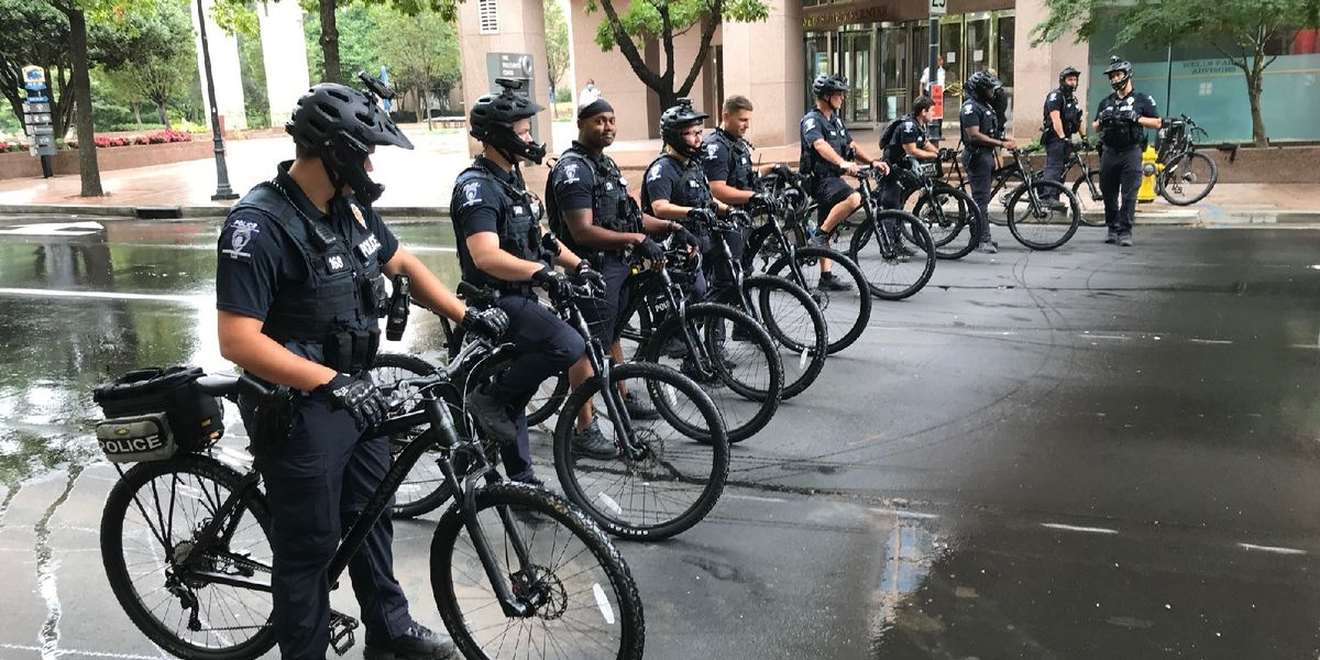 One arrested after 'unlawfully' entering security perimeter near RNC in Charlotte