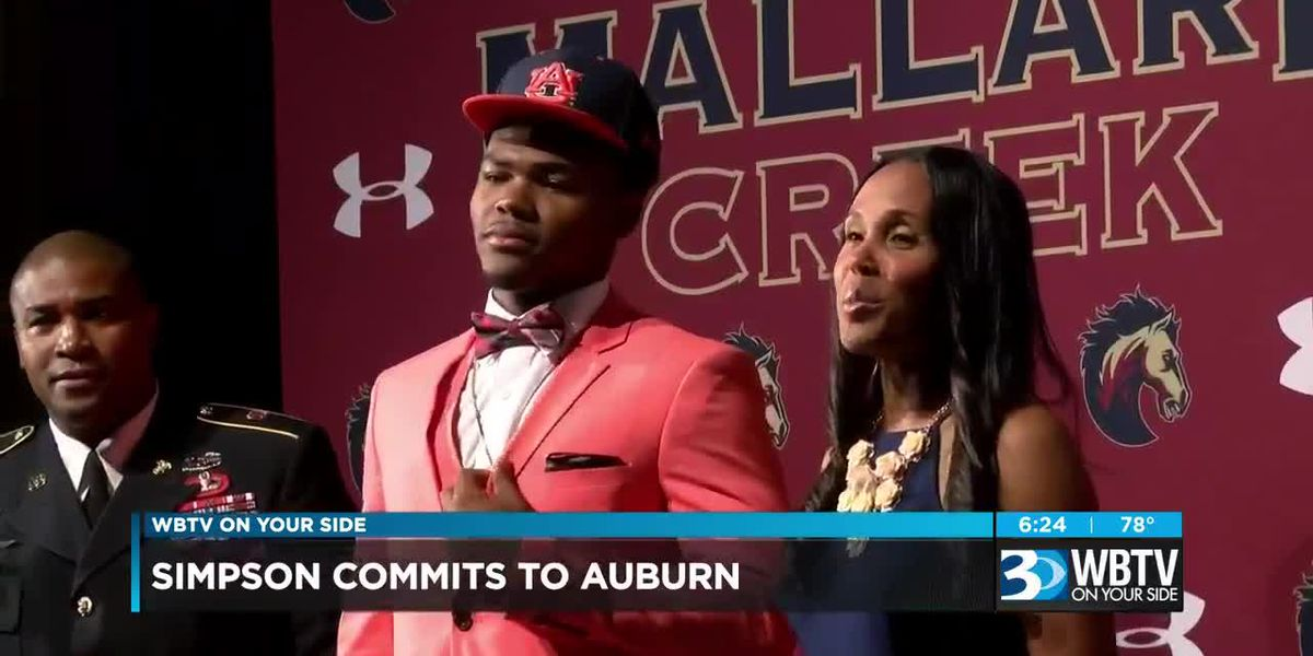 Mallard Creek LB Trenton Simpson commits to Auburn