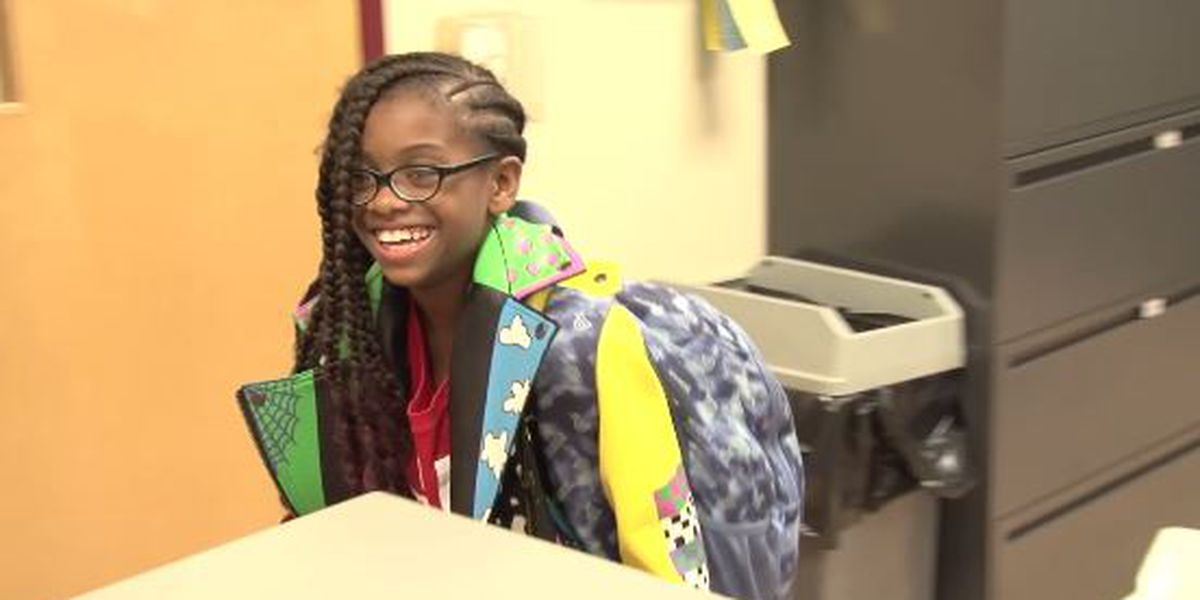 This 11-year-old Cleveland girl is giving back and the universe is reciprocating