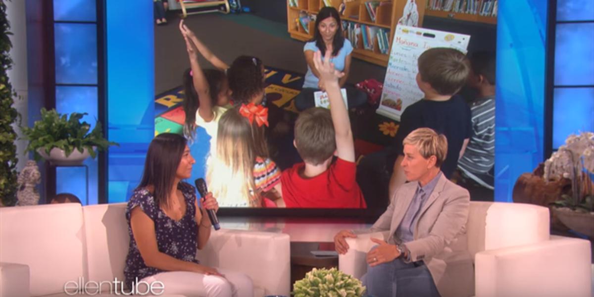Ellen DeGeneres shocks Charlotte area teacher with big donation from Chobani