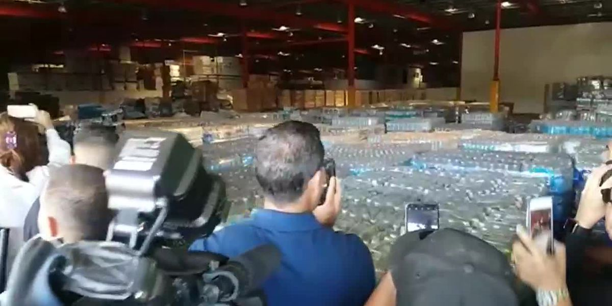 Puerto Rico: Emergency supplies, water found in warehouse