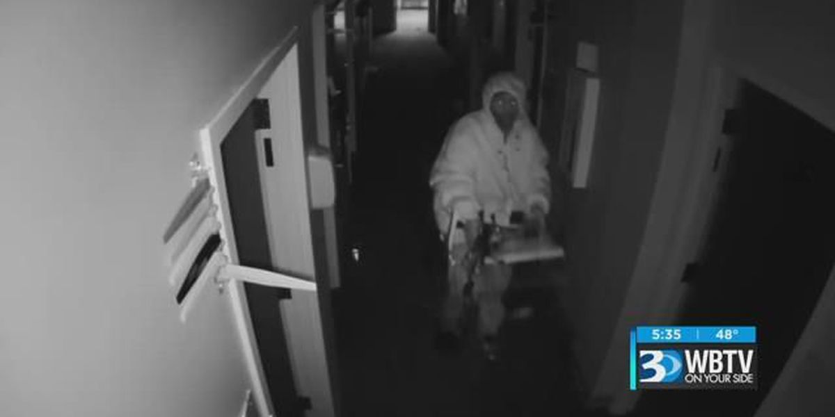 Crime Stoppers: Thief gets a surprise during a double break-in