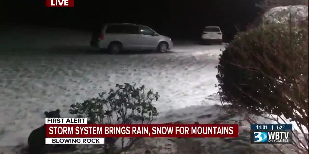 Storm system brings rain, snow for mountains