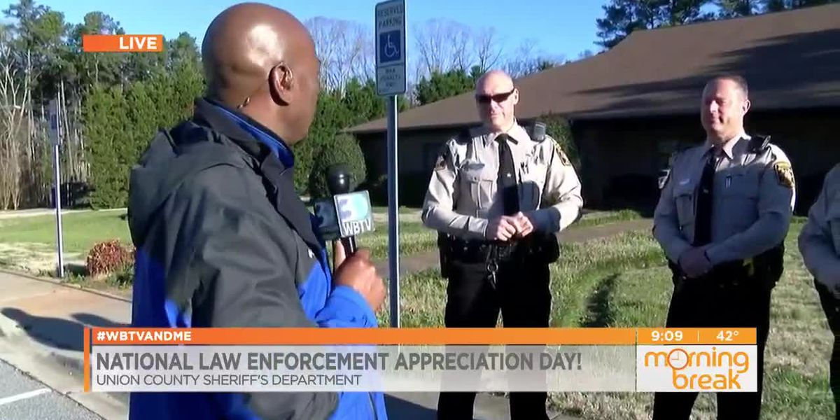 Coach spreads some love to our local law enforcement