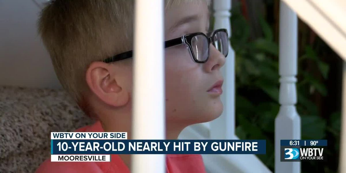 10-year-old nearly hit by gunfire