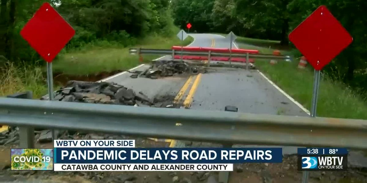 A year after floods, some roads still not fixed because of covid 19 shutdown