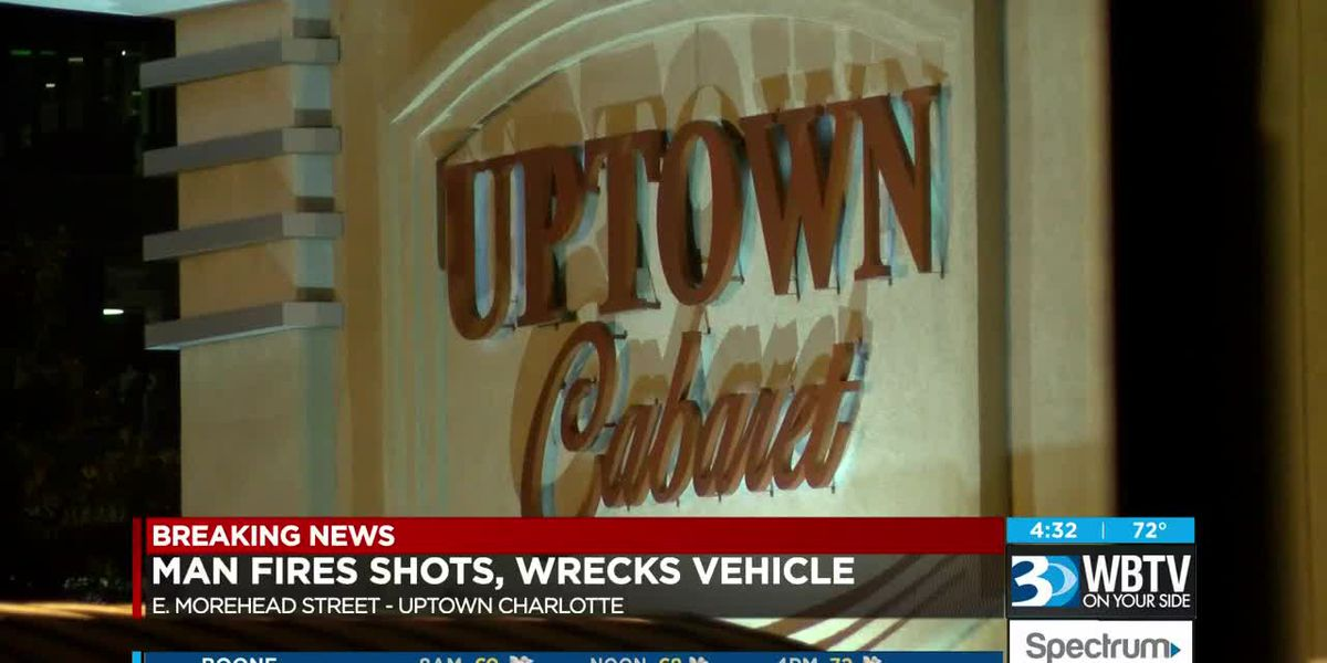 Man kicked out of club in uptown fires shots at employees, wrecks his car