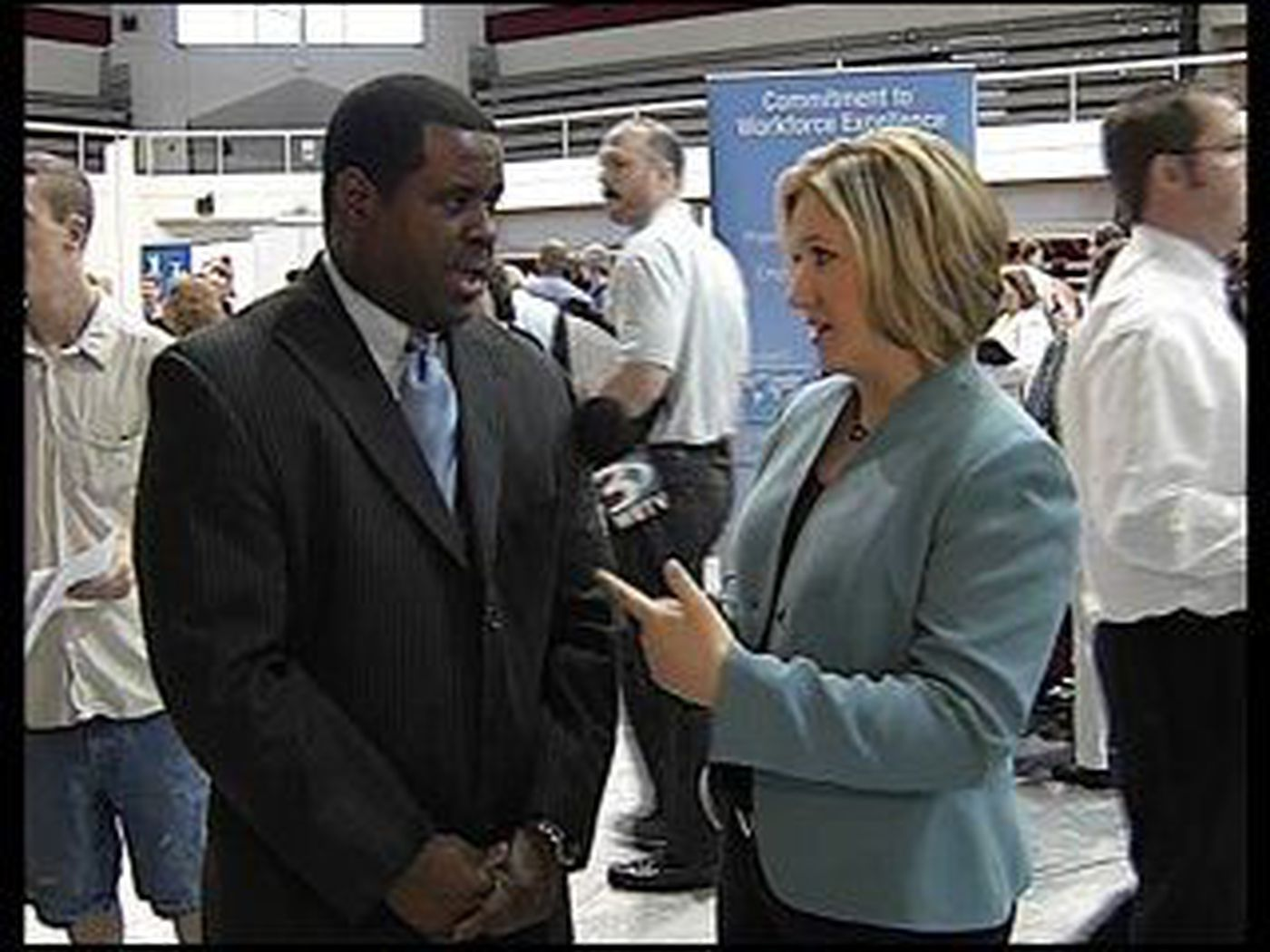 Job seekers converge on Hickory