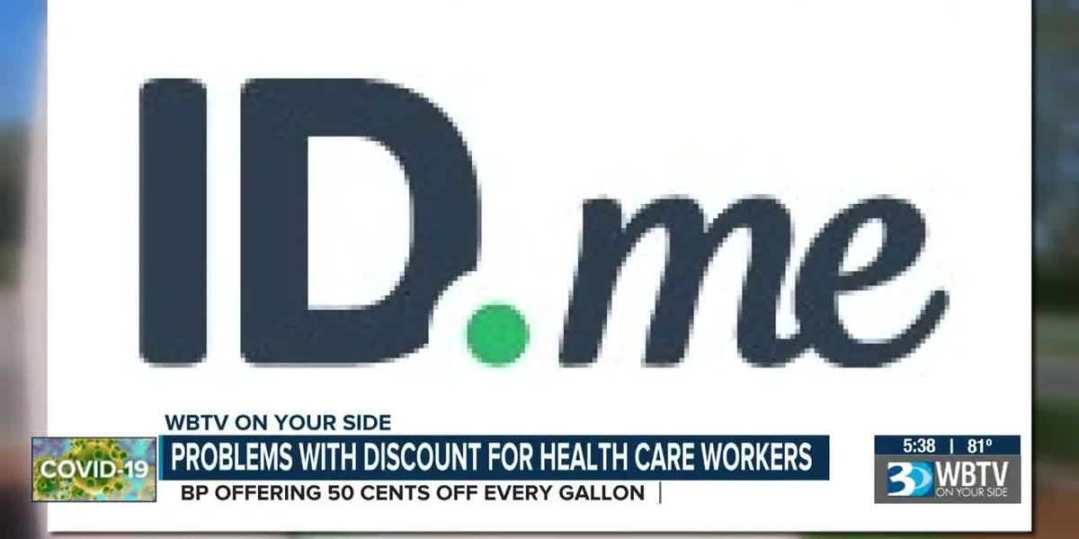 Problem with discount for healthcare workers
