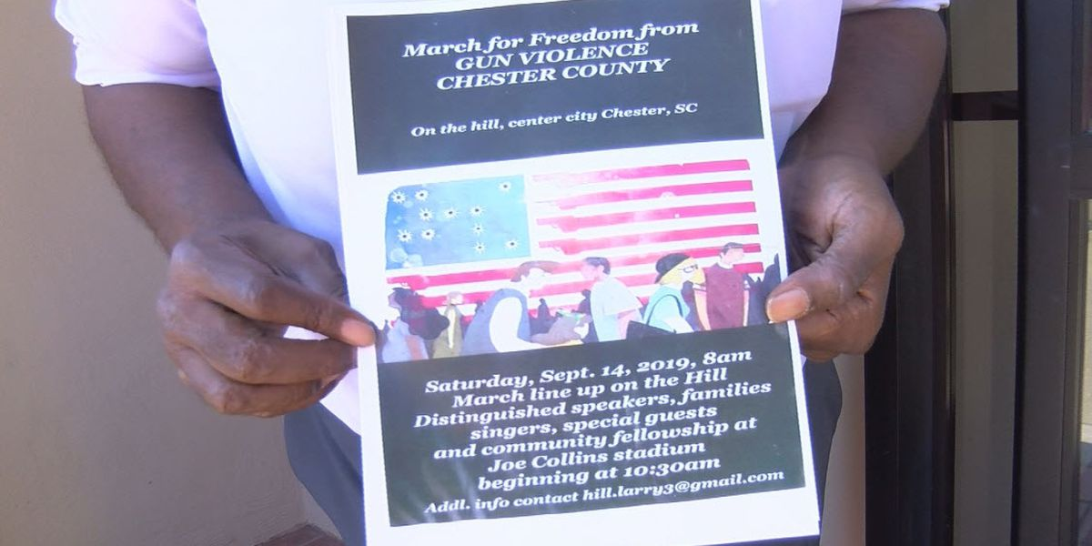 'March for Freedom from Gun Violence' rally to be held in Chester