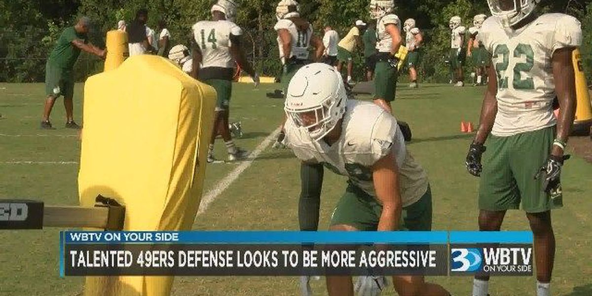WBTV Sports Overtime: Talented Charlotte 49ers defense looks to be more aggressive in 2018