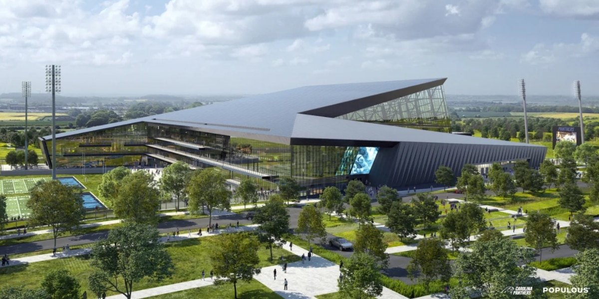 Carolina Panthers reveal renderings of HQ, practice facility in Rock Hill, S.C.