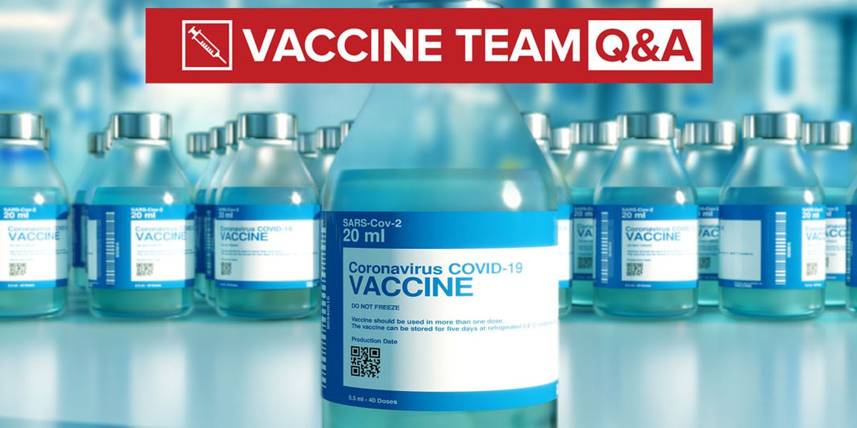 VACCINE TEAM: How 16 and 17-year-olds can schedule their Pfizer vaccine appointment.