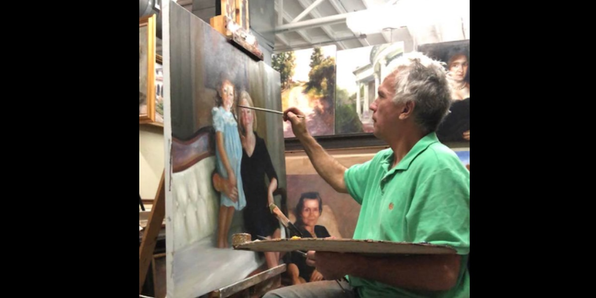 Local artist wins regional and national awards for portraits