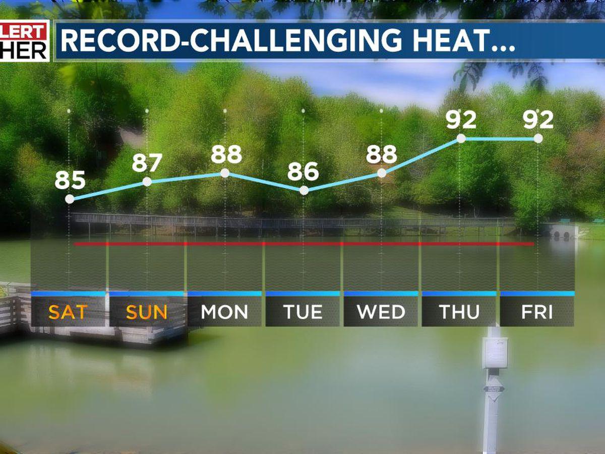 Fall Arrives Monday...Record Heat May Follow