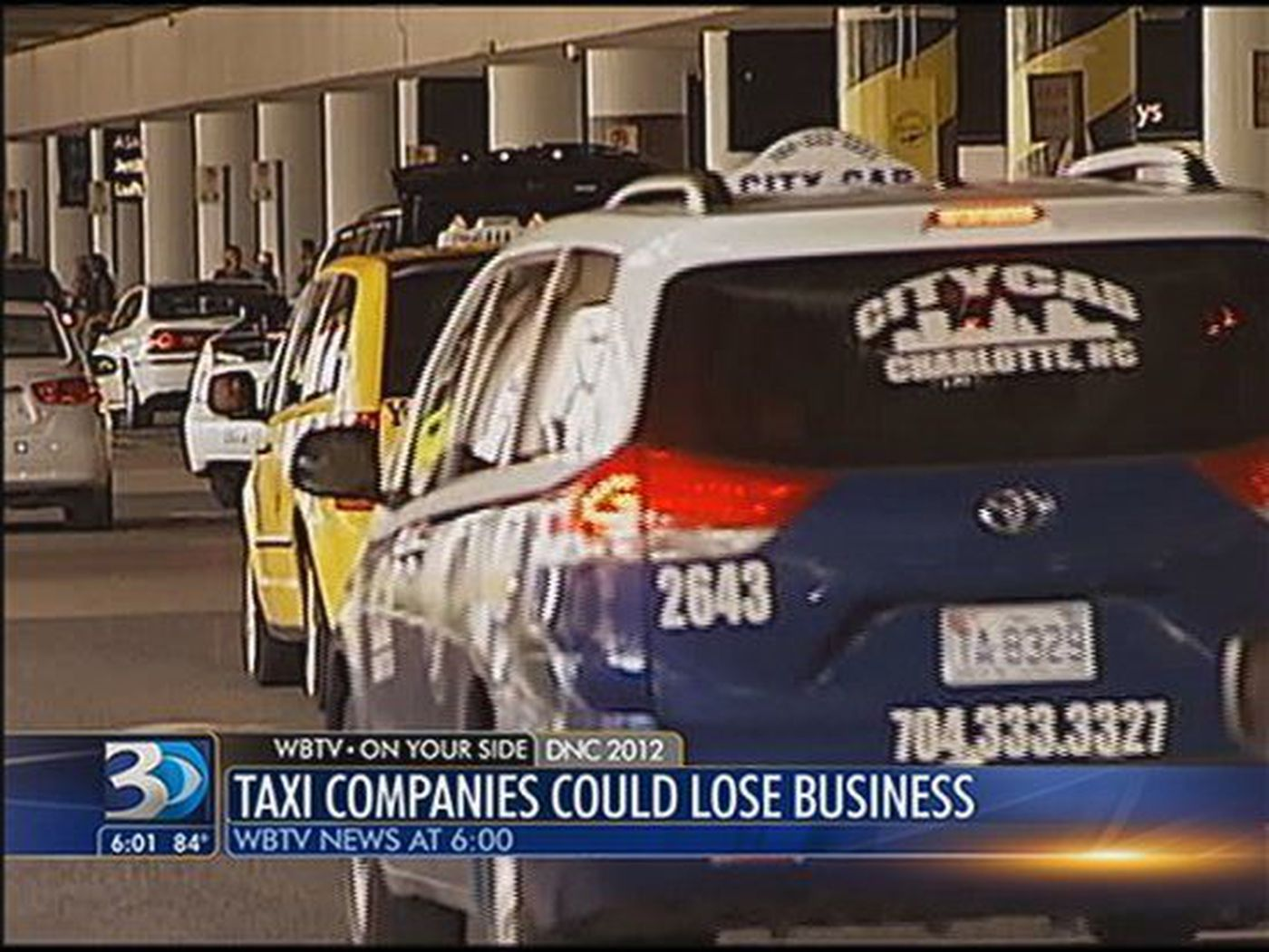 Local taxi companies could be shut out of DNC business