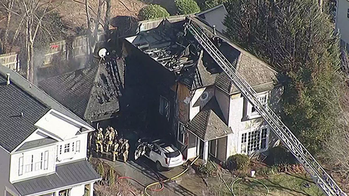 Cornelius home heavily damage by fire