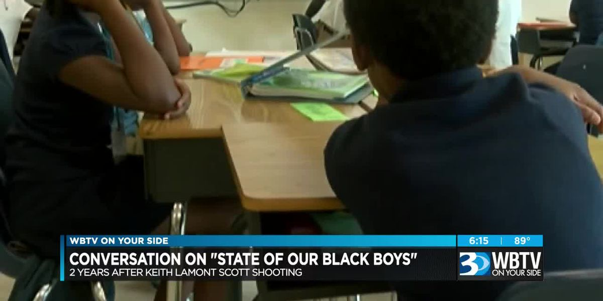 Discussing 'State of Our Black Boys' in Charlotte