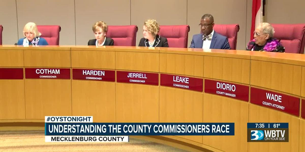 OYST Voter Guide: Understanding the county commission race in Mecklenburg County