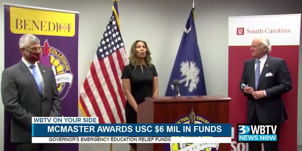 WBTV News Now: S.C. Gov. allocates $6 million in education relief funds for community computer labs
