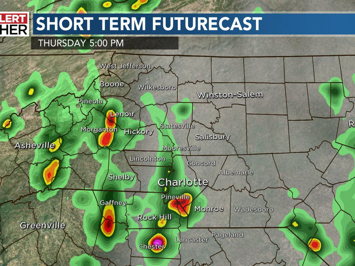 First Alert: Late-day gusty thunderstorms could lead to additional flash flooding, toppled trees