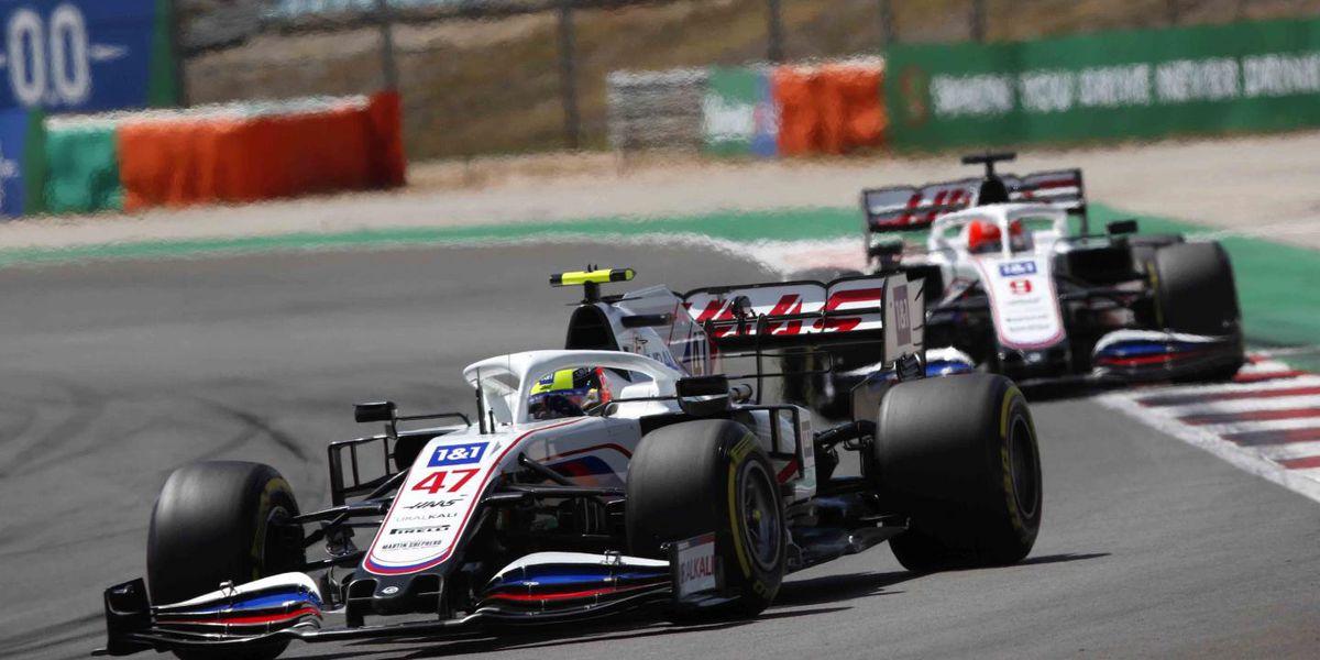 Hamilton wins 97th Grand Prix, Kannapolis-based Haas drivers show progress in Portugal