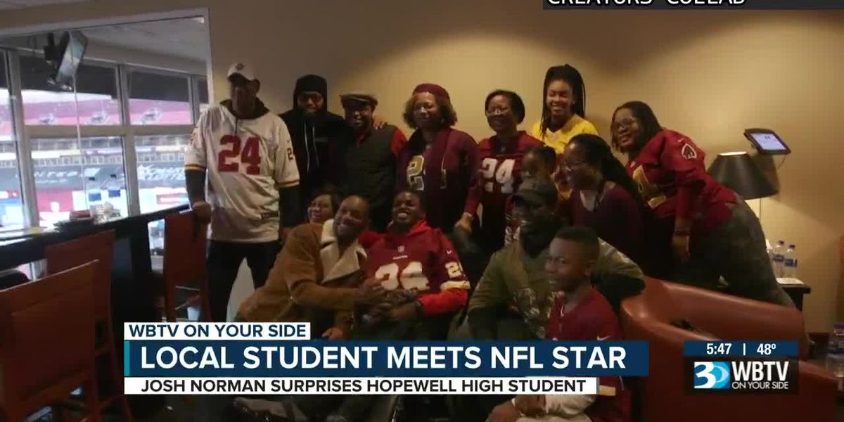 Dream On 3: Local student meets NFL star