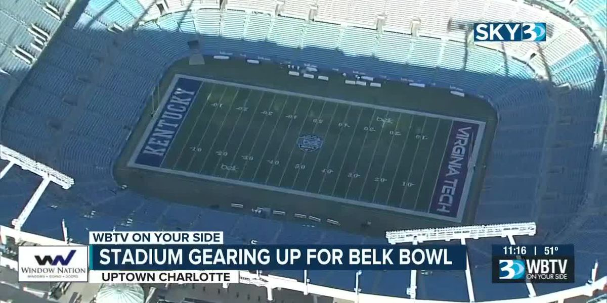 Fans ready for final Belk Bowl in Charlotte on Tuesday