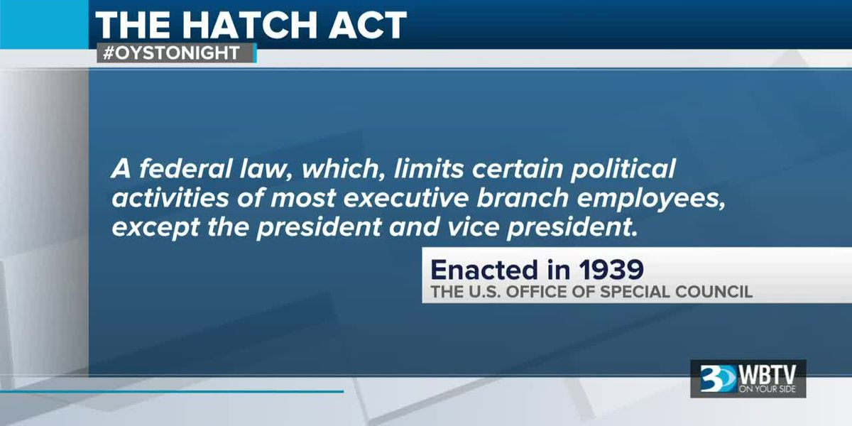 Good question: Who is responsible for enforcing the Hatch Act?