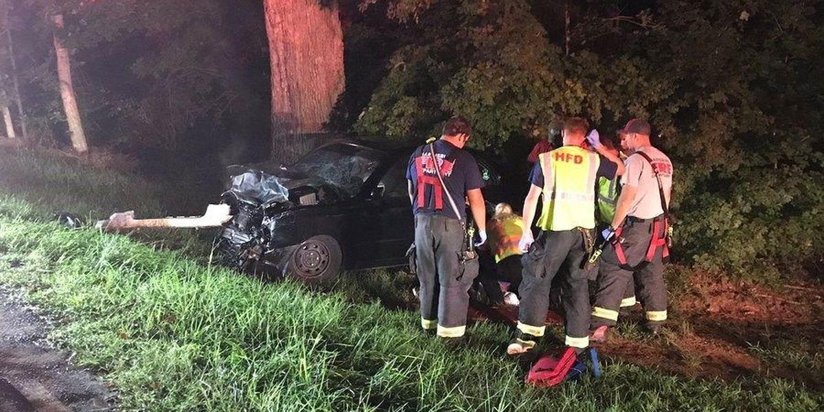 One injured in Harrisburg crash