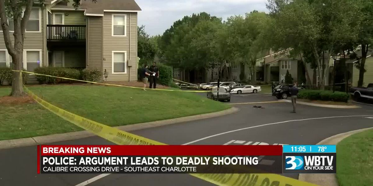 Man shot, killed at apartment complex in southeast Charlotte
