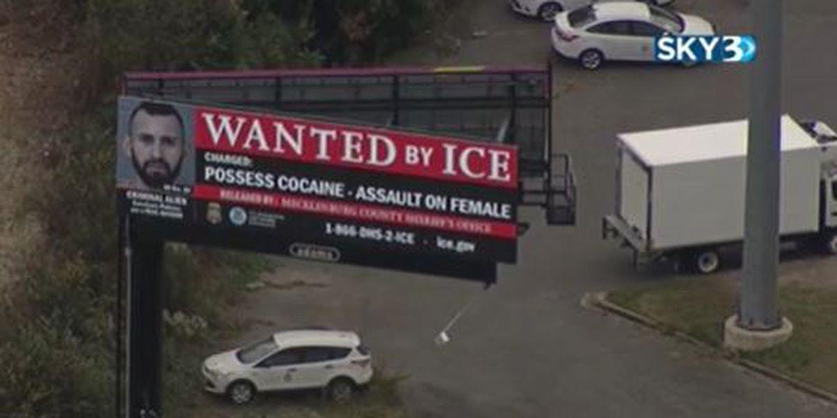 Mecklenburg sheriff says ICE is spreading untruths, blasts new Charlotte billboards