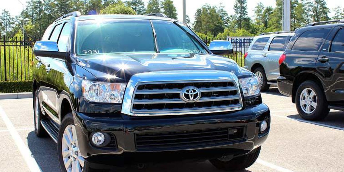 Find an autumn adventure in the 2015 Toyota Sequoia!