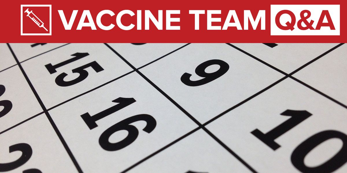 VACCINE TEAM: Can I get my 2nd Pfizer vaccine shot less than 21 days after the first?