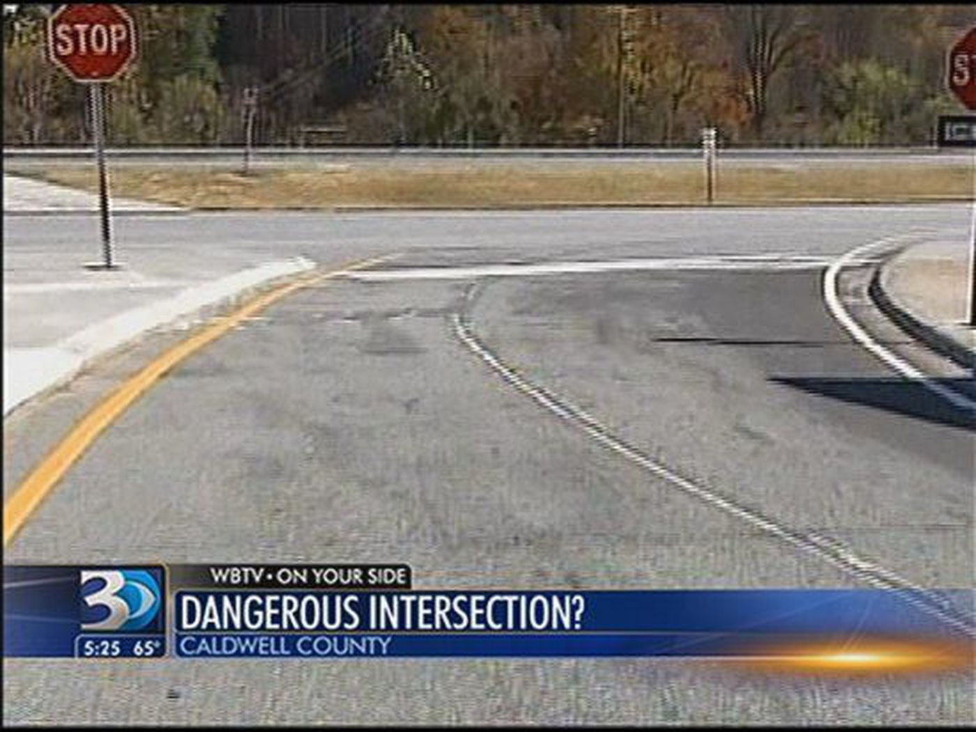Concerns about Caldwell Co  intersection surface following deadly wreck