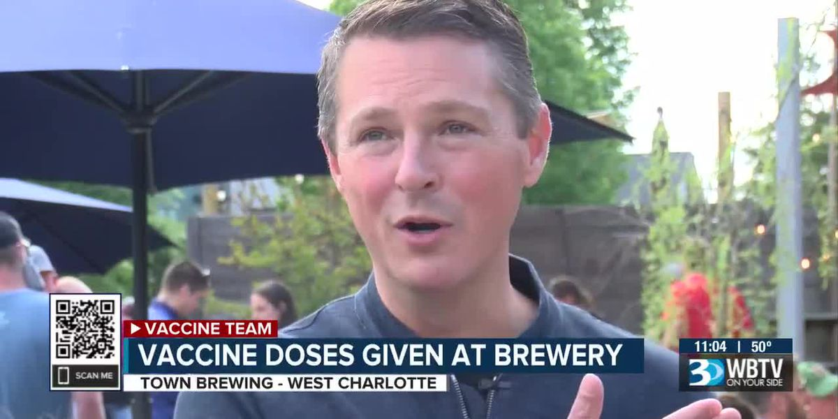 Vaccine doses given at brewery