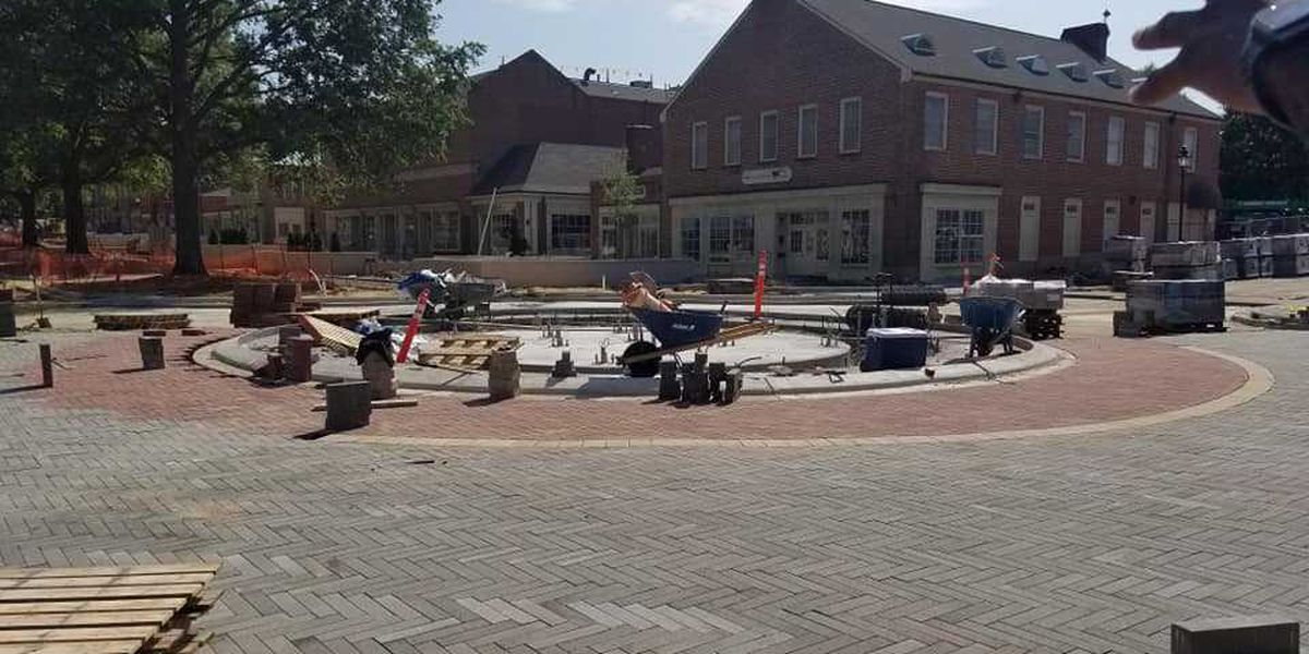 Warm, dry weather helping construction project in downtown Kannapolis