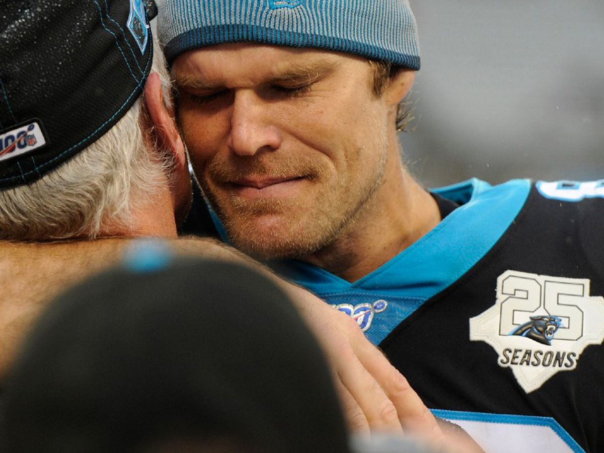 """Greg Olsen on Charlotte being """"home,"""" his charity and why he's joining the Seahawks"""