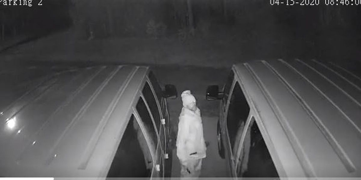 Church's security camera catches image of suspect