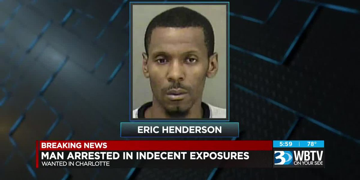Man accused of exposing himself to children at Charlotte bus stops arrested